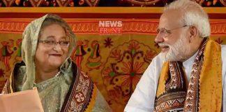 PM Modi Sekh Hasina meeting | newsfront.co