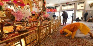 PM Modi in Gurudwar | newsfront.co