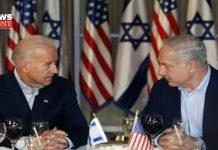 Biden with Netanyahu | newsfront.co
