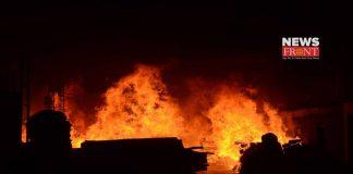 Newtown massive fire   newsfront.co