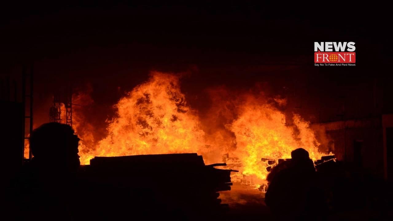Newtown massive fire | newsfront.co
