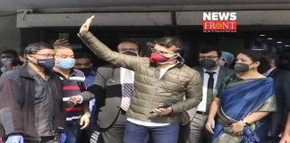 Sourav Ganguly in Woodland hospital   newsfront.co