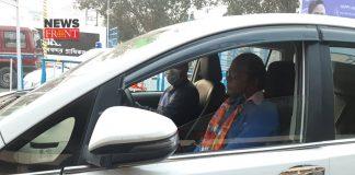 sayantan basu in car   newsfront.co