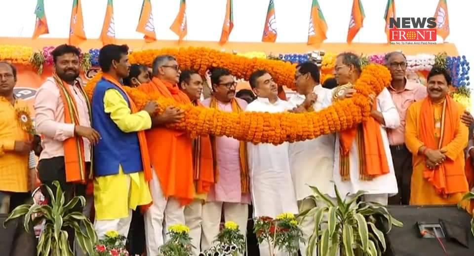 BJP Leader Suvendu Adhikari   newsfront.co