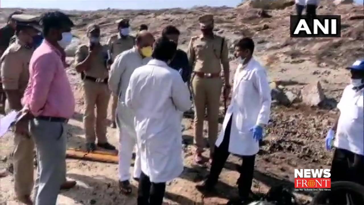 Karnataka Gelatin explosion | newsfront.co