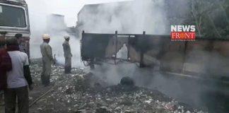 fire in truck | newsfront.co