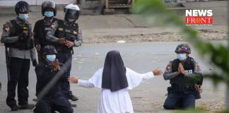 Myanmar Nun | newsfront.co
