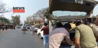 naka checking at south dinajpur | newsfront.co