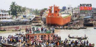 Bangladesh Ferry accident   newsfront.co