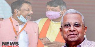 Tathagata Roy on Kailash Vijayvargiya | newsfront.co