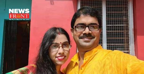 suman samanta and his wife | newsfront.co