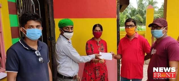 teacher couple helped red volunteers | newsfront.co
