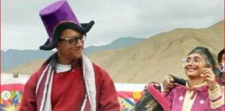 Amir Khan Kiran Rao Dance in Ladakh