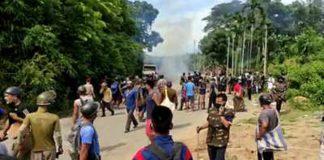 Assam Mizoram border clash