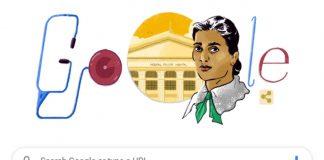 Google Doodle Kadambini Ganguly