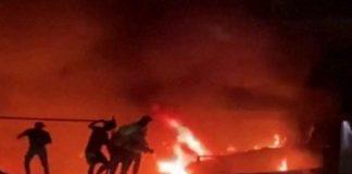Iraq covid ward Fire