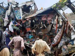 Pakistan Bus accident