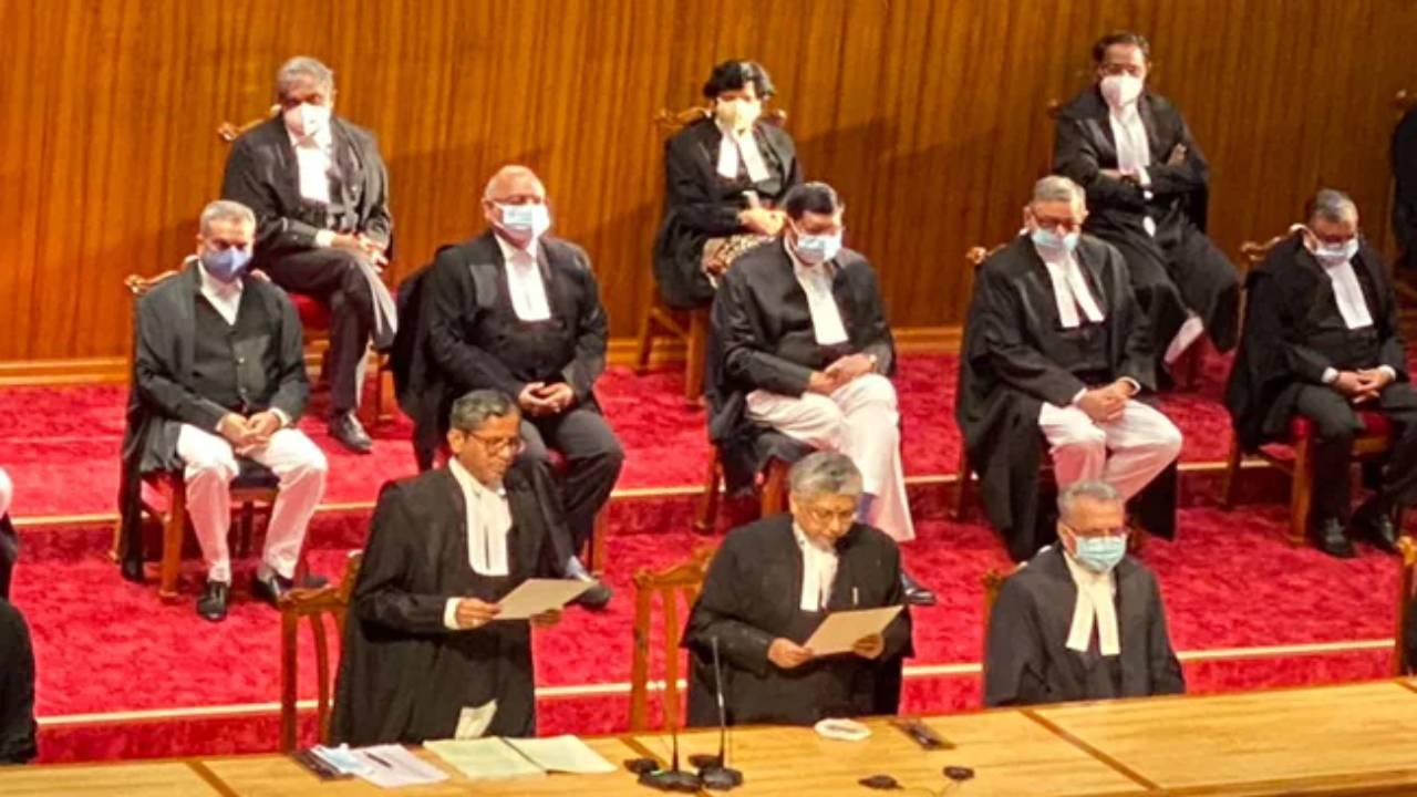 nine judges take oath at Supreme court