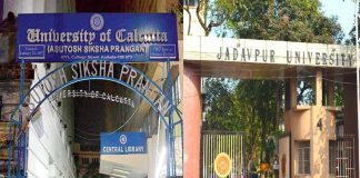 Calcutta University Jadavpur University