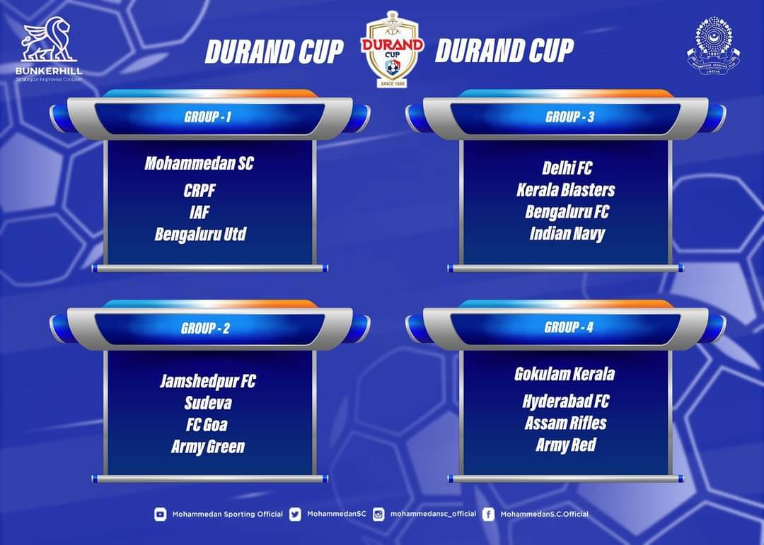 Durand Cup2021