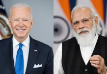 Joe Biden Narendra Modi