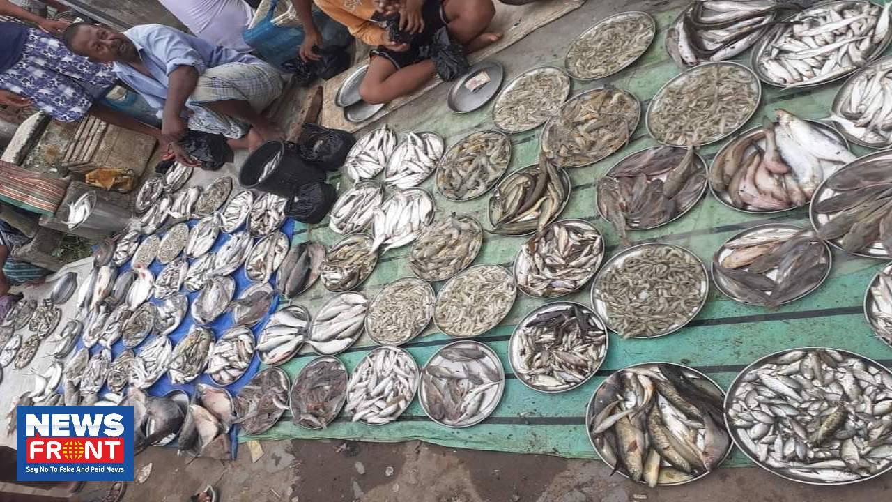 Lalgola Fish Market