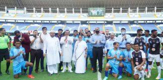 Mamata Banerjee inaugurated Durand cup