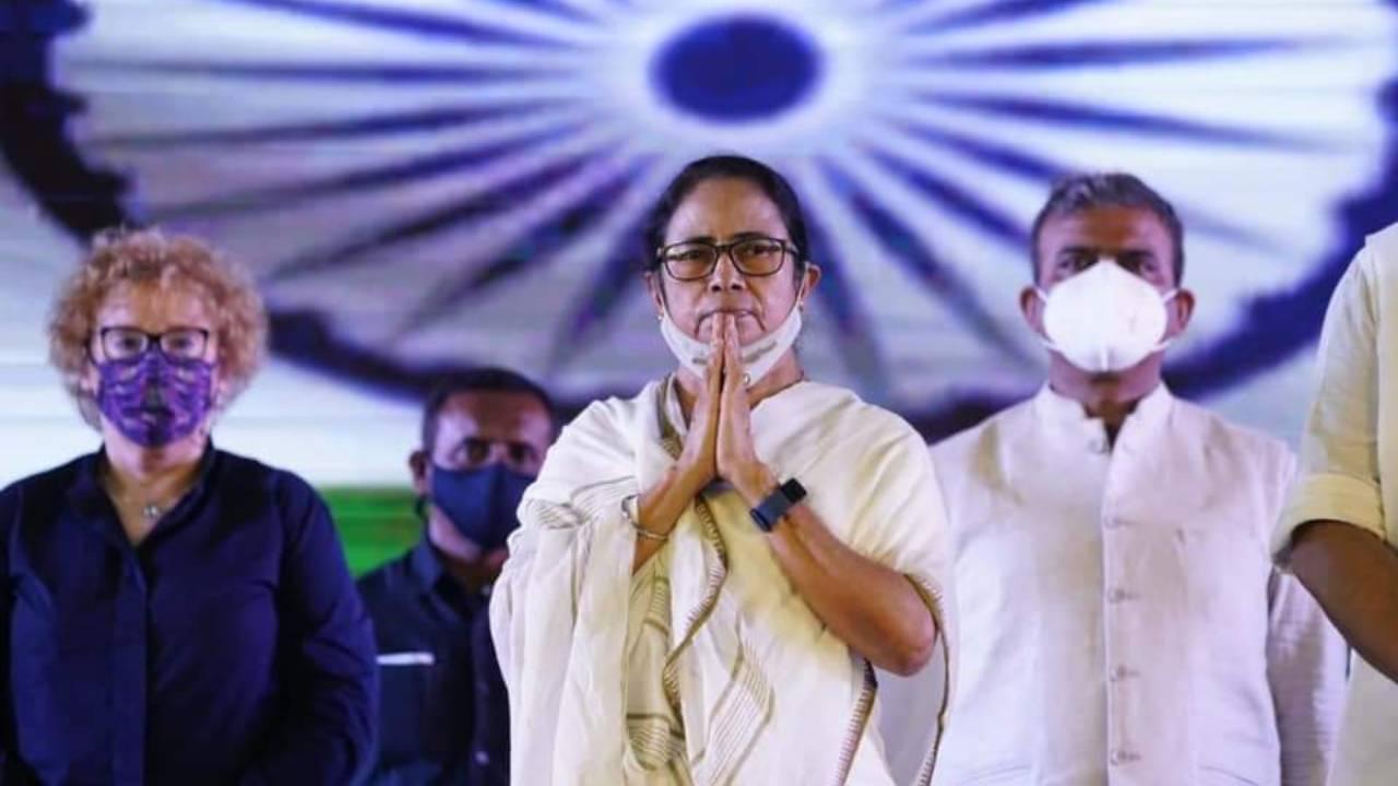Mamata Banerjee at Panagarh
