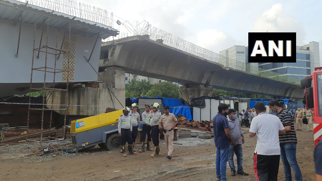 Mumbai bridge collapsed