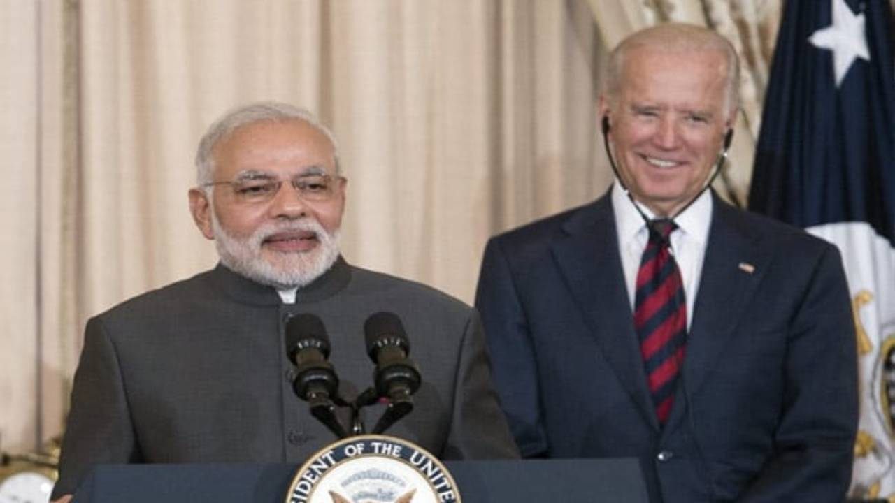 PM Modi Joe Biden