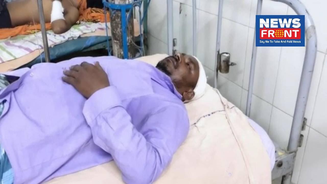 injured BJP worker