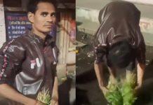Bhopal vegetables seller Viral Video