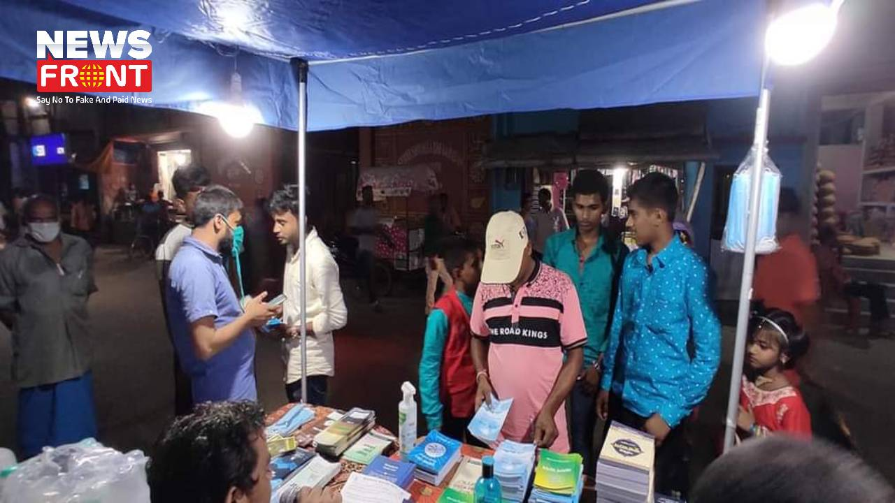 Lalgola book stall