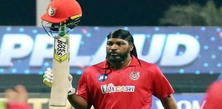 Chris Gayle walks out from IPL