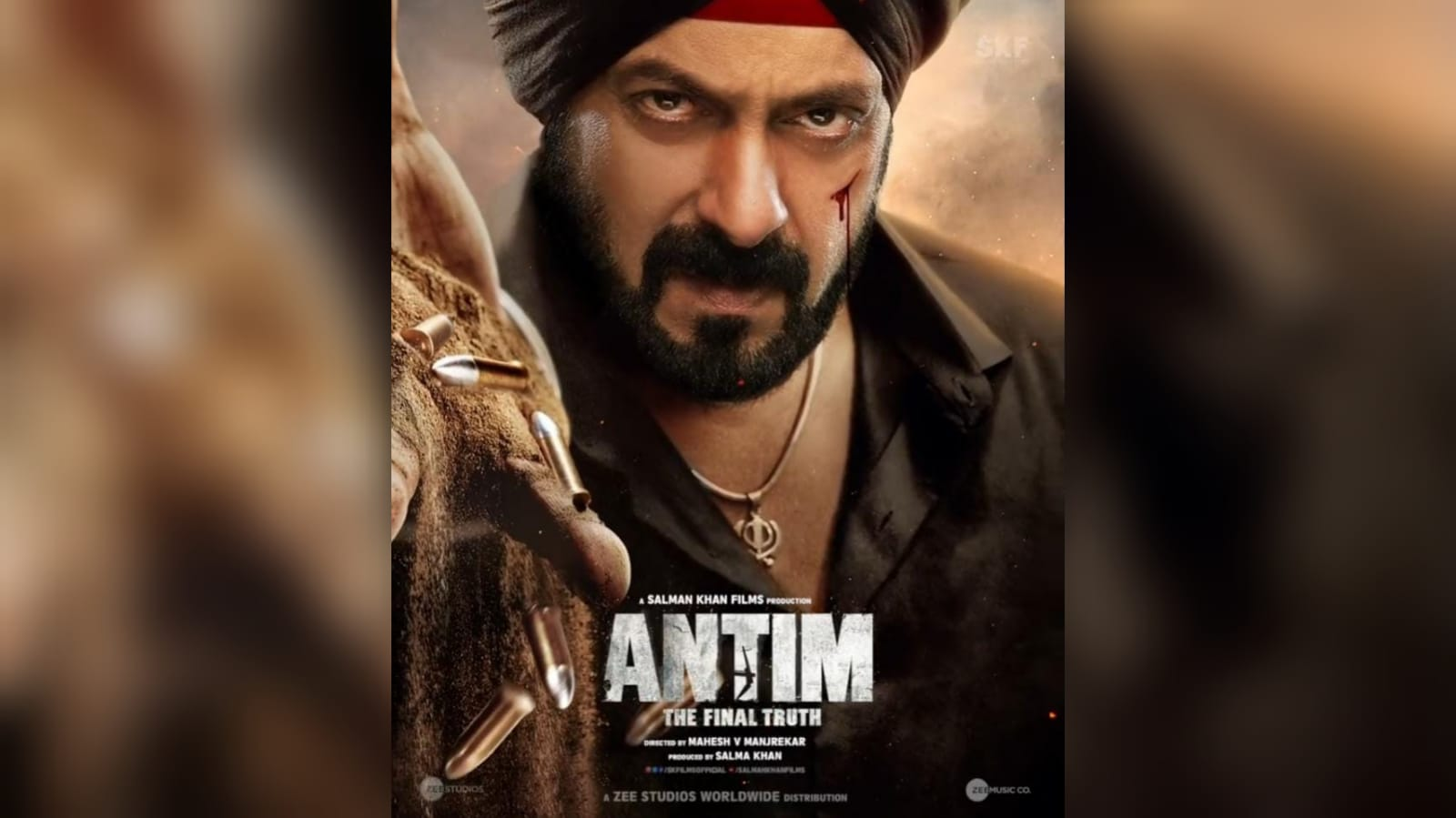 Salman khan Antim